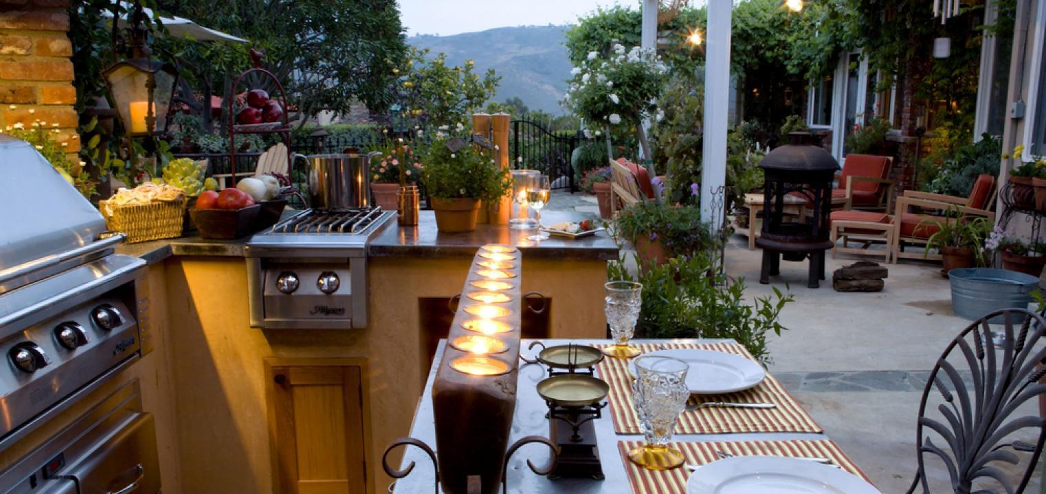 Jak Zaplanować Letnią Kuchnię Na Tarasie Lub W Altanie